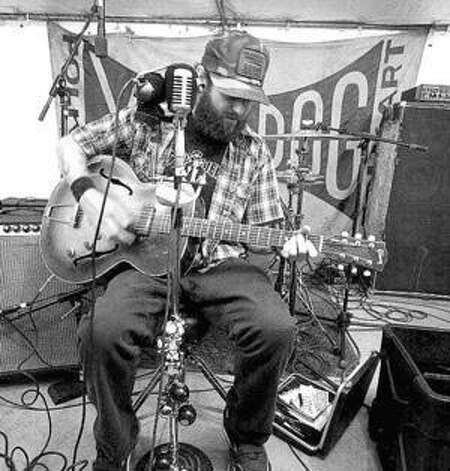 Scott H. Biram plays Saturday at the Phoenix Saloon in New Braunfels.