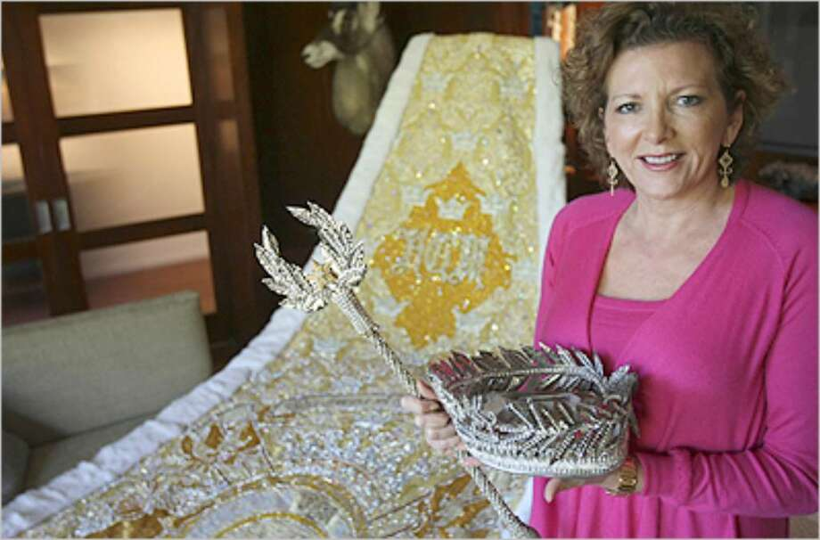 """Cari Hill is this year's Mistress of the Robes for the Court of the Dazzling Adornments. She was asked to take the title over three years ago, and she adds, """"this is a big job."""""""