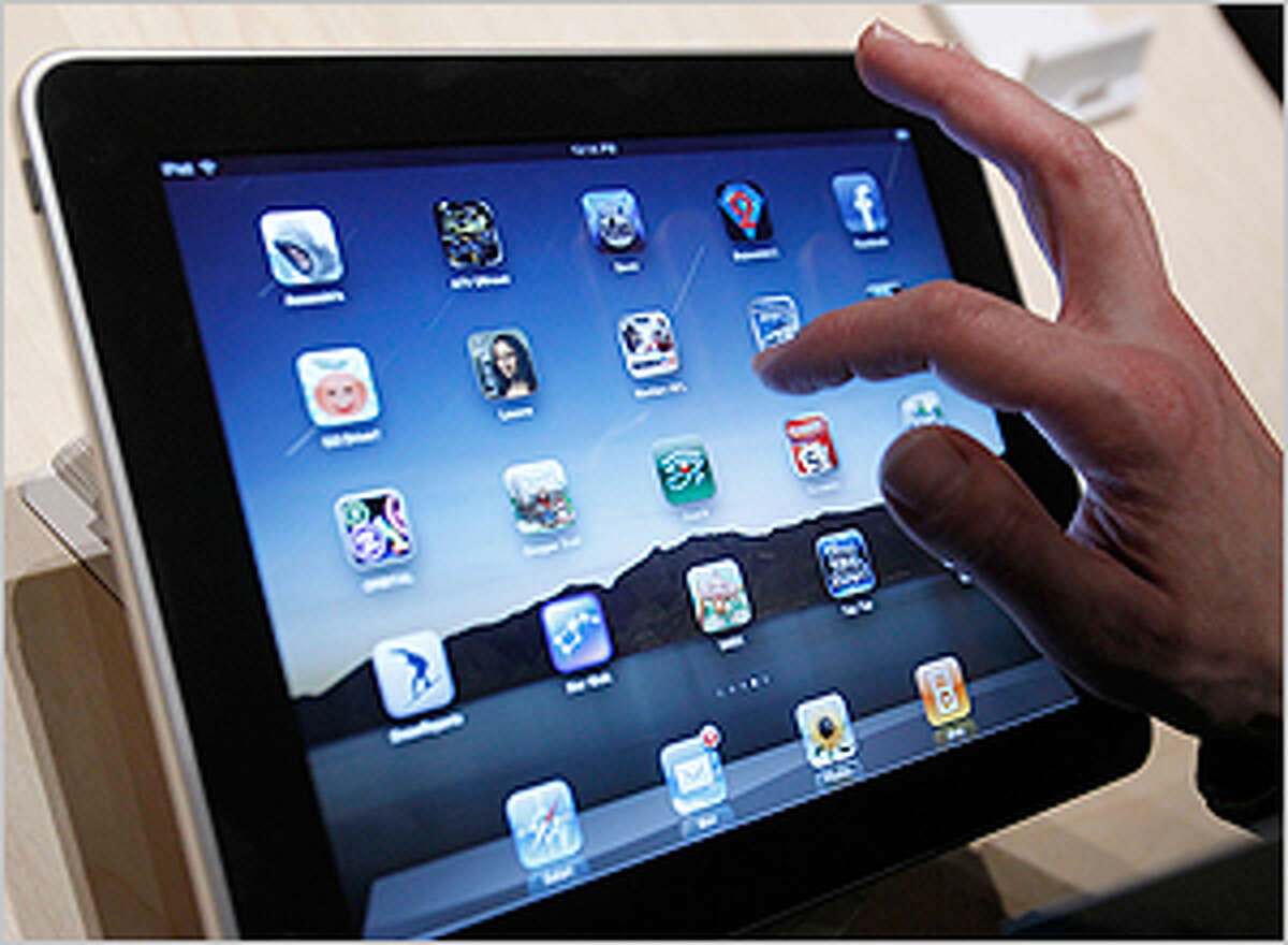 The multifunctional iPad can be used to browse the Web, read and send e-mail, view photos, watch videos, listen to music, play games, read e-books and much more.
