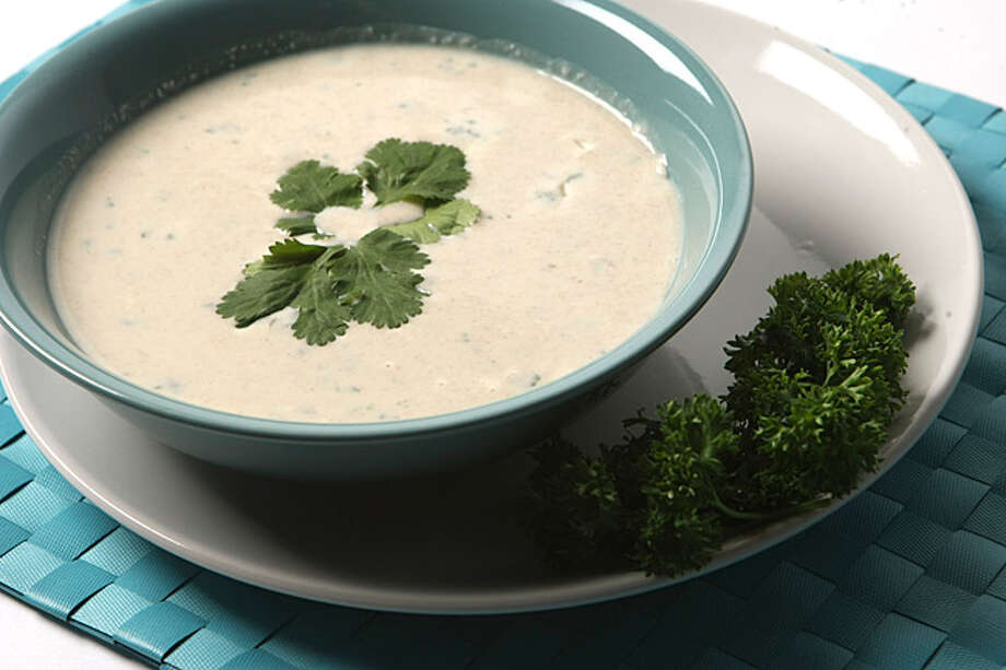 Coconut soup?s enjoyed in Asia and in the Americas. The soup is served cold and traditionally after an appetizer as part of a formal meal, but can also be enjoyed all on its own.