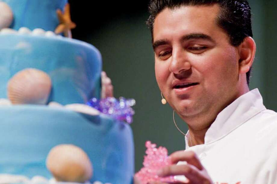 Baker Buddy Valastro of TLC's 'Cake Boss,' will make a stop at the Shubert Theater in New Haven, Sunday, Nov. 7, as part of his 17-city 'Bakin' with The Boss Tour.' During this interactive show, the audience will be encouraged to ask questions and may even get a chance to come up on stage. Photo: Contributed Photo / Stamford Advocate Contributed