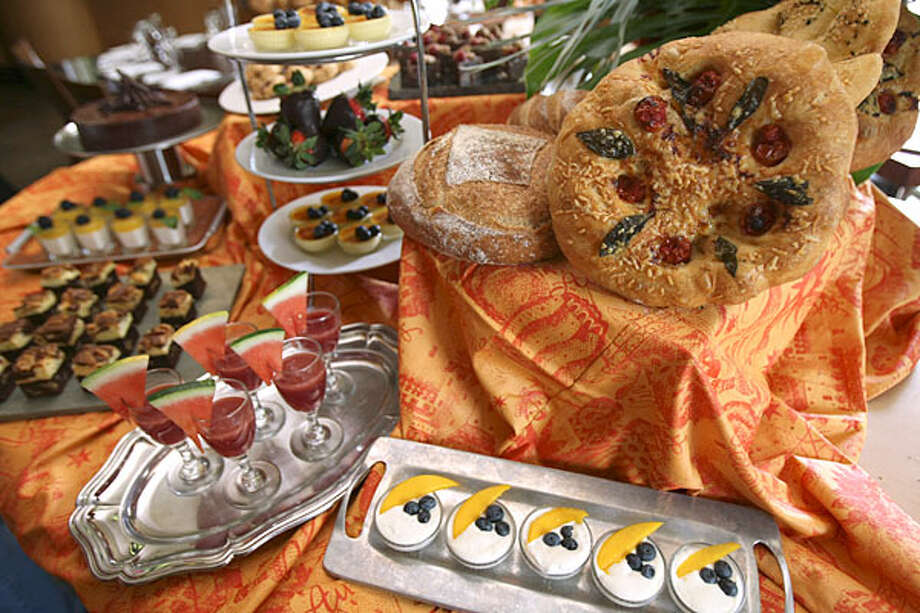 Mother's Day brunch at Biga on the Banks includes an array of breads and desserts. / SAN ANTONIO EXPRESS-NEWS