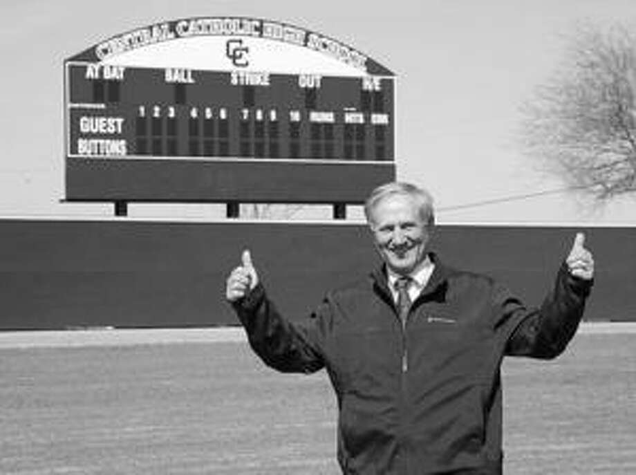 Clarence Kahlig II, a 1965 Central Catholic grad, recently donated land to be used for a baseball field.