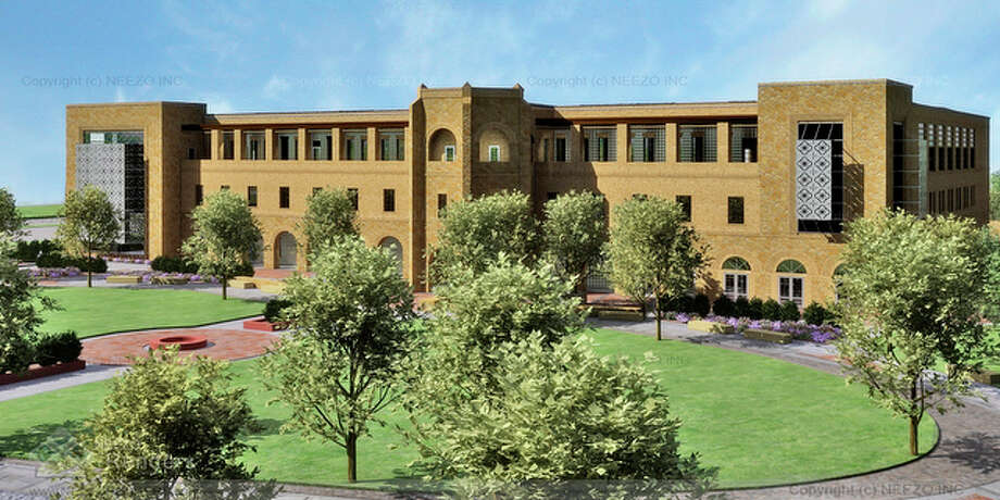 ARTIST RENDERING: The new Texas A&M University-San Antonio building will include parking, walkways, court yards and landscaping with construction to begin April 2010 and completed July 2011. It will be built to LEED Silver Standards green initiative. / Texas A&M University-San Antonio