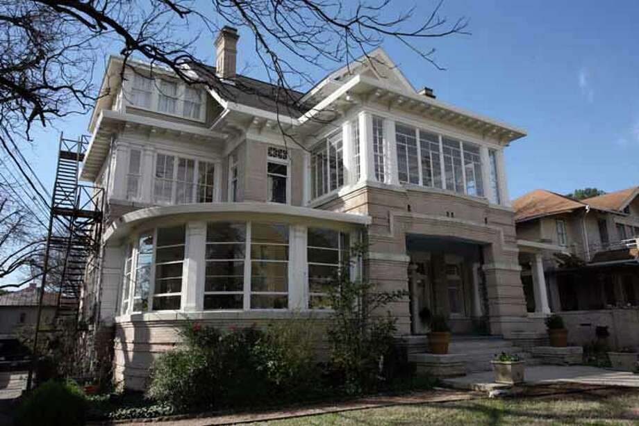 The Arts and Crafts house was designed by architect Atlee B. Ayres and built in 1911.
