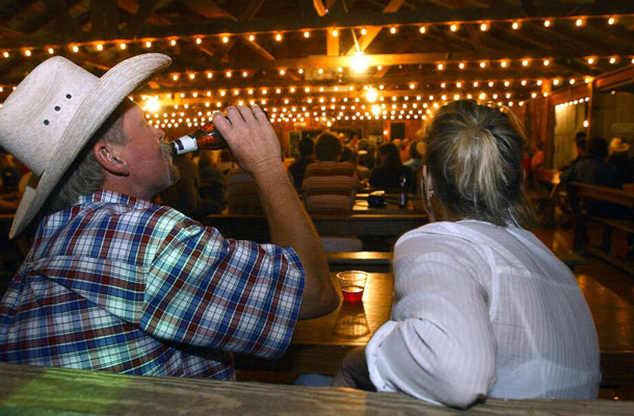Luckenbach Dance Hall - 412 Luckenbach Town Loop, Fredericksburg / SAN ANTONIO EXPRESS-NEWS