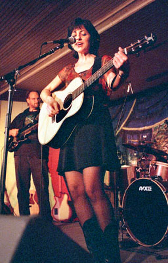 Lifestyle  Tish Hinojosa performs at Gruene Hall  Nov. 13, 1998.