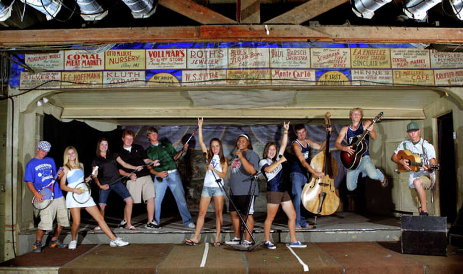 In 2008 the The Express-News used Gruene Hall as the set for the All Area Spring athletes of the year photo shoot. / SAN ANTONIO EXPRESS-NEWS