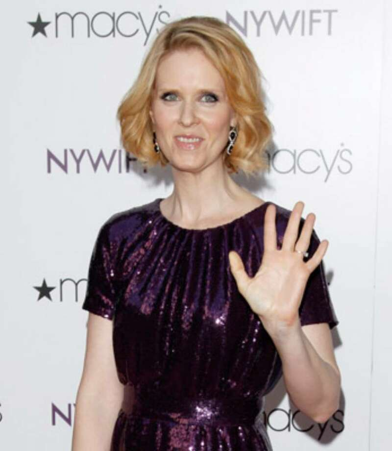 Actress Cynthia Nixon attends the Designing Women Awards in New York on Tuesday, May 25, 2010.