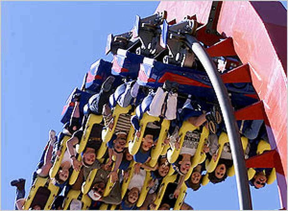 Fans of the Superman Krypton Coaster can compete for some quality time with the thrill ride on Saturday, the park's opening day.