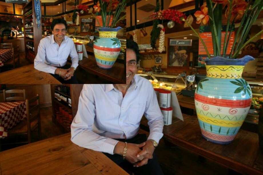 Luciano Centofanti owns the company along with brother Gennaro. They've been in the San Antonio market for 25 years and have two types of restaurant that feature Italian food.