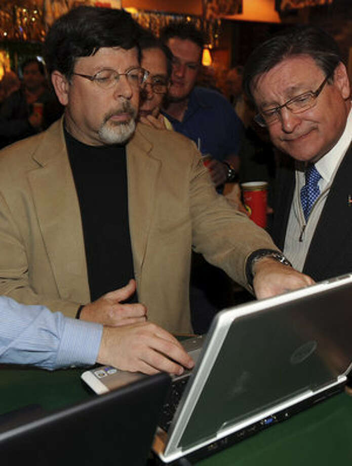 U.S. District 23 Republican candidate Francisco ?Quico? Canseco (right), 60, narrowly leads in the primary vote. Canseco ran in the 2008 Republican primary, but lost.
