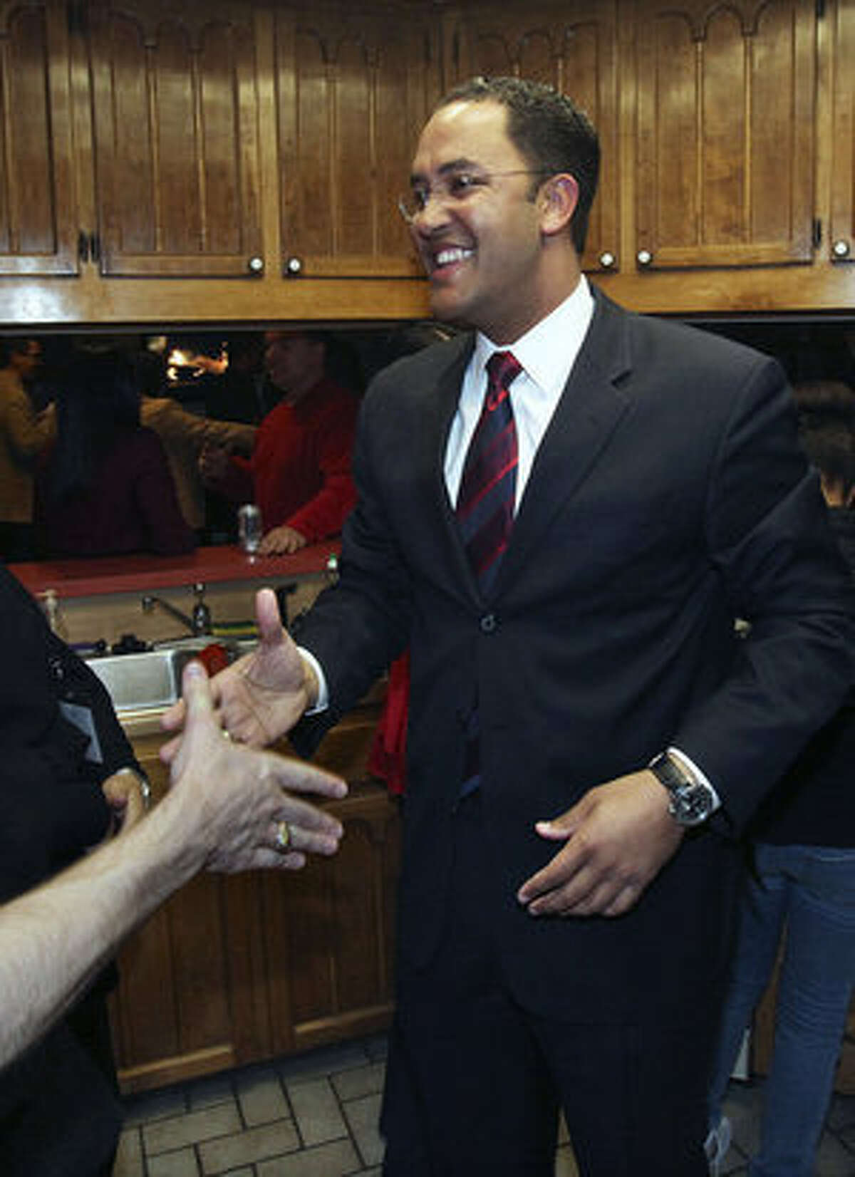 U.S. District 23 Republican hopeful Will Hurd, 32, came in a close second. He will face a runoff with Canseco in April.