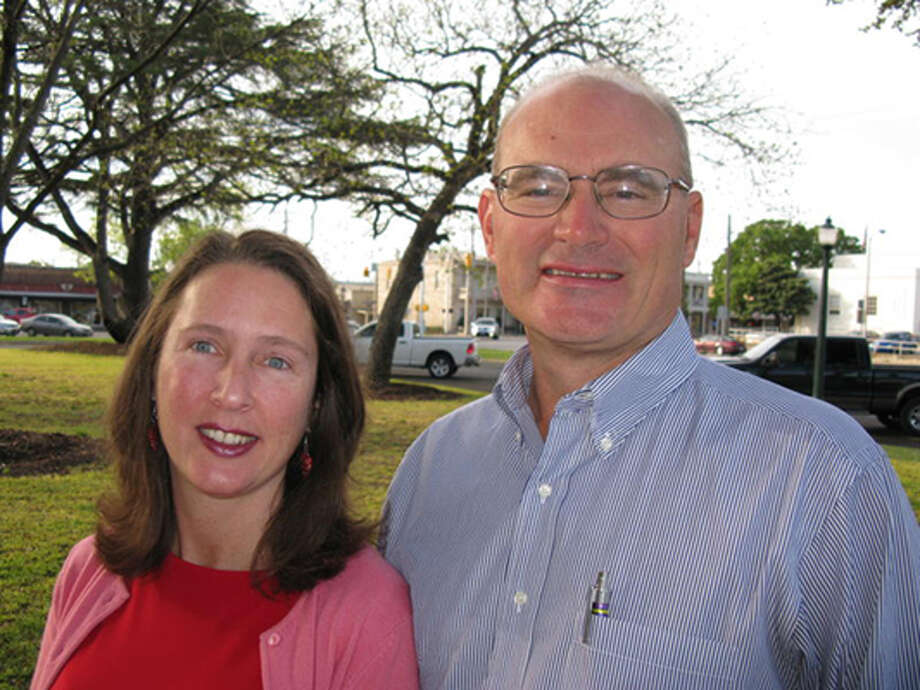 Robert Keeble is seeking a seat on the Kerrville City Council, which already includes his wife, Stacie Keeble.