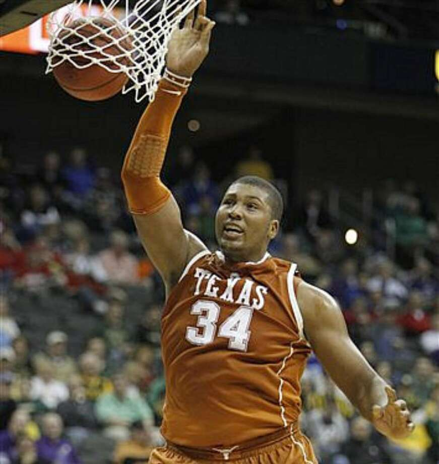 Former Texas center Dexter Pittman has left the NBA draft combine after his half-brother was shot and killed in Houston.