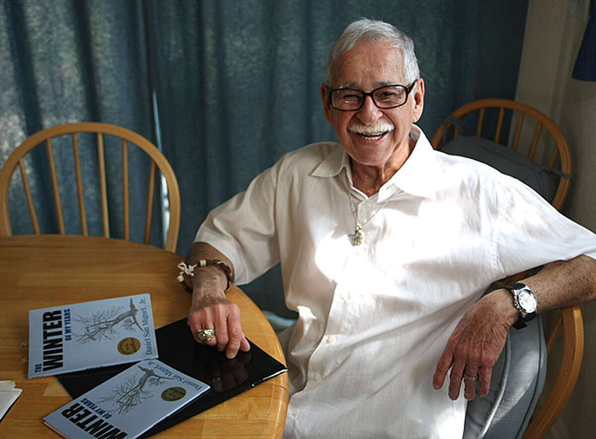 """Daniel San Miguel, 78, wrote """"The Winter of My Years,"""" a collection of 18 autobiographical poems."""