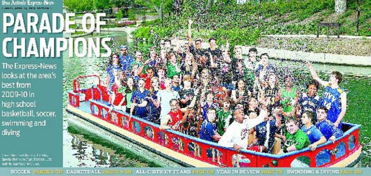Cover photo by Edward A. OrnelasSpecial thanks to Capt. Estevan Lucio and Rio San Antonio Cruises