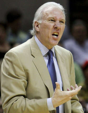 Spurs coach Gregg Popovich says his team has played its best basketball over the past month.