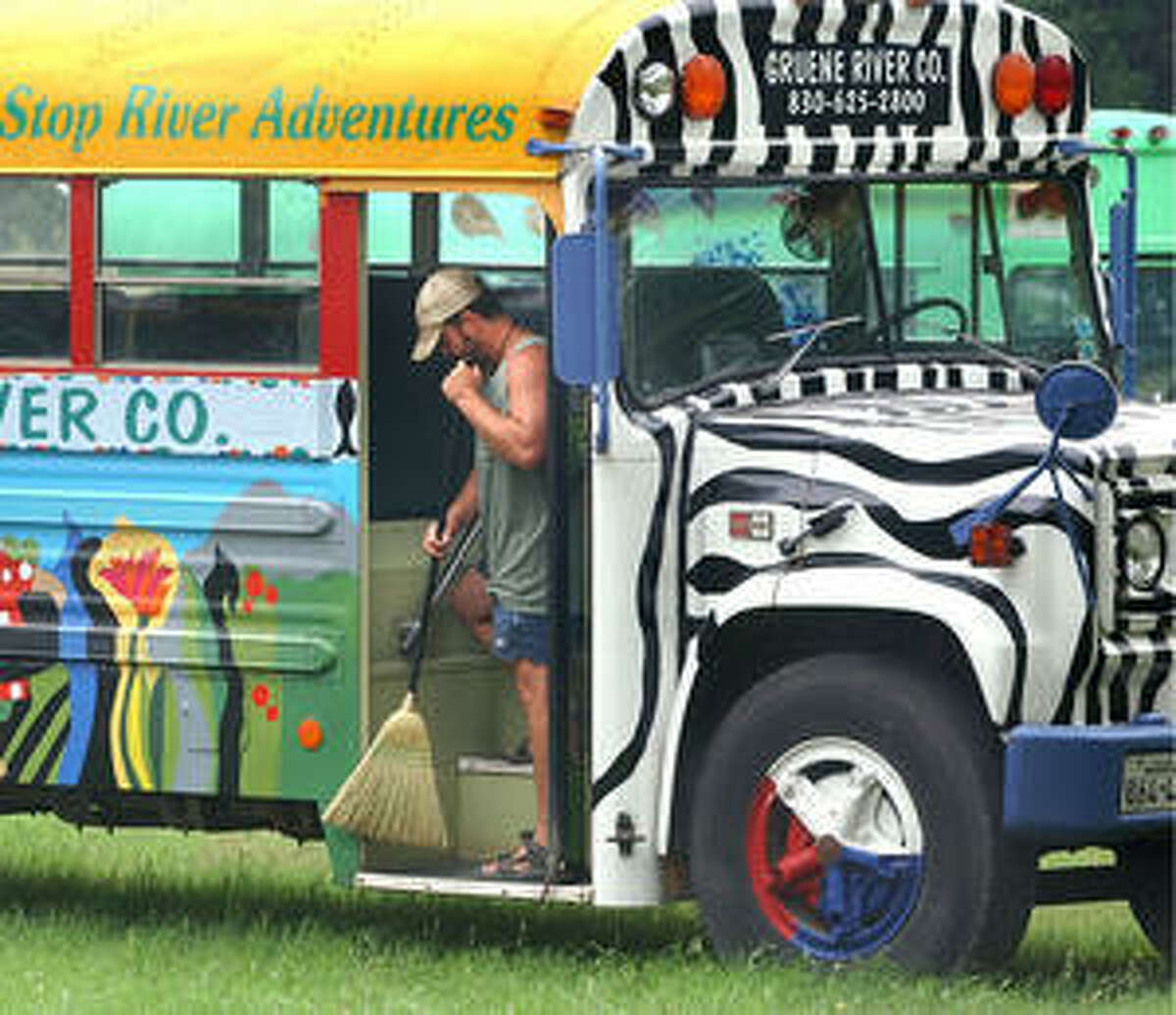 By next year, river outfitters will have to use buses or other vehicles specifically made to transport people as shuttles, according to new rules in New Braunfels.