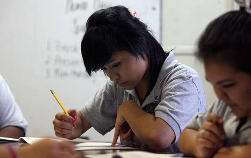 14. KIPP University Prep High School , KIPP San AntonioStudent-teacher ratio: 14:1College readiness: 33.6 percentState rank:151