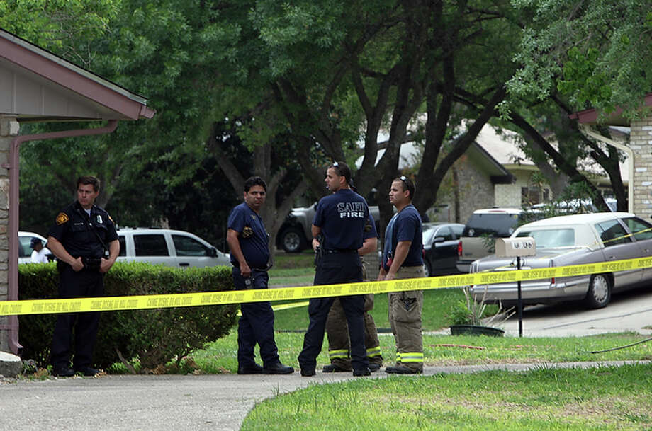 April 24, 2008: Firefighters responding to reports of a small fire discover San Antonio restaurateur Viola Barrios, 76, dead in her home in the 10800 block of Tioga. / SAN ANTONIO EXPRESS-NEWS