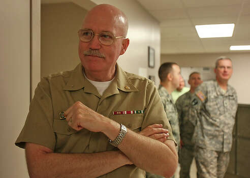 Adm. William Kiser is the first commandant of the Medical Education & Training Campus at Fort Sam Houston. When the Medical Education & Training Campus starts its first class at Fort Sam Houston this summer, it will be the largest facility of its kind in the world. Close to 50,000 students a year from the Army, Air Force and Navy will graduate from the campus and Army Medical Department Center and School. / SAN ANTONIO EXPRESS-NEWS