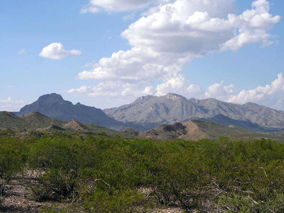 This Oct. 10, 2007 file photo provided by Betty Alex shows the Christmas Mountains in far West Texas. Land Commissioner Jerry Patterson says he will sell the Christmas Mountains in West Texas to a private bidder or even lease it for bow hunting, but will not transfer control to the National Park Service if hunting won't be permitted.
