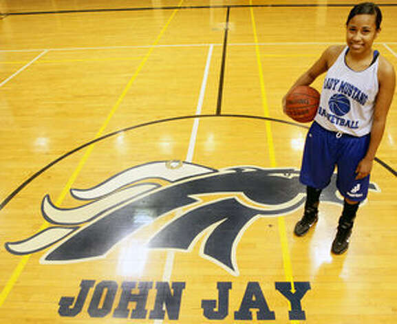 When Kiara Taylor isn't shining on the court for the Mustangs, she's making the grade in Jay's Science and Engineering Academy.