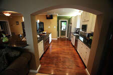 Paul and Wimberley Davila removed a wall to open up the kitchen in their Depression-era home in Monticello.