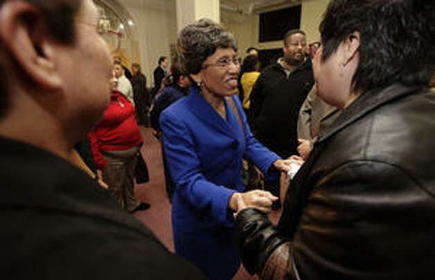 Linda Chavez-Thompson ran against Lt. Gov. David Dewhurst in 2010.