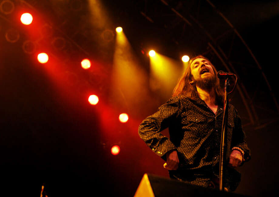 Black Crowes singer Chris Robinson performs with the group tonight at Whitewater Amphitheater in Sattler.
