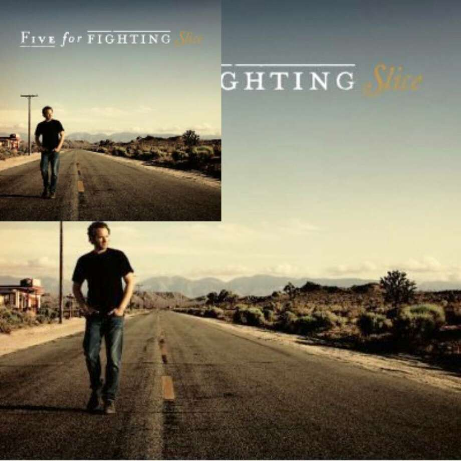 """Slice,"" the new album from Five For Fighting."