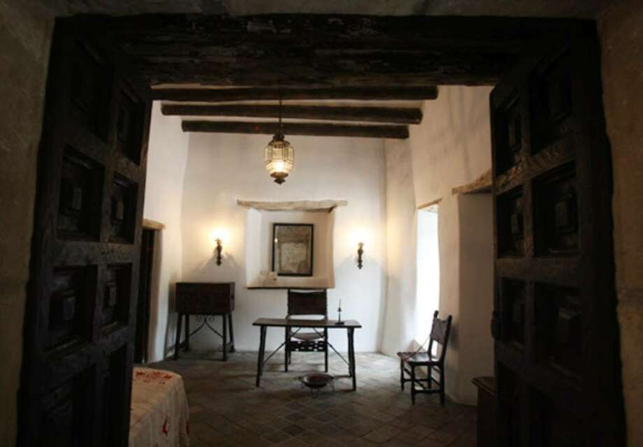 This is the 1722 captain's home and office at the Spanish Governor's Palace, which is having a grand reopening celebration today from 1 to 4 p.m.