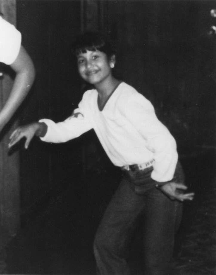 Legendary Tejano singer, at age 8 (approximately 1979).