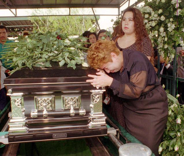 coffin of slain Te...
