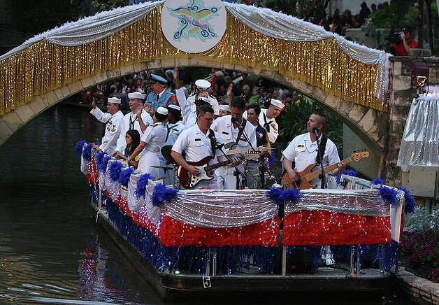 U.S. Naval Academy Band Electric Brigade.