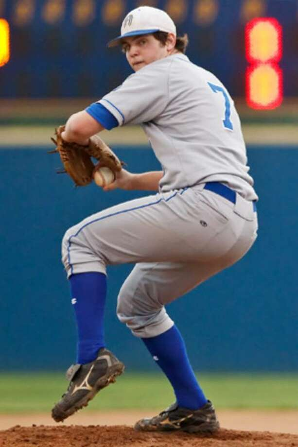 "Alamo Heights' Luke Maloy on the heavy pitching load: ""I like the weight on my shoulders, no matter how much weight."""