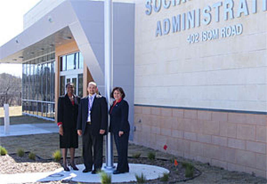 Charming Social Security Administration District Manager Jackie Johnson (left) Is  Joined Buy Oscar Garcia,