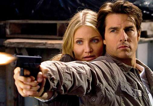 "Tom Cruise and Cameron Diaz star in the in a scene from the action comedy ""Knight & Day,"" which that is scheduled to open June 25."