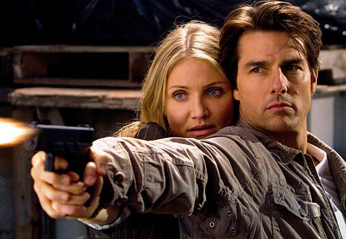 Tom Cruise and Cameron Diaz star in the in a scene from the action comedy ?Knight & Day,? which that is scheduled to open June 25.