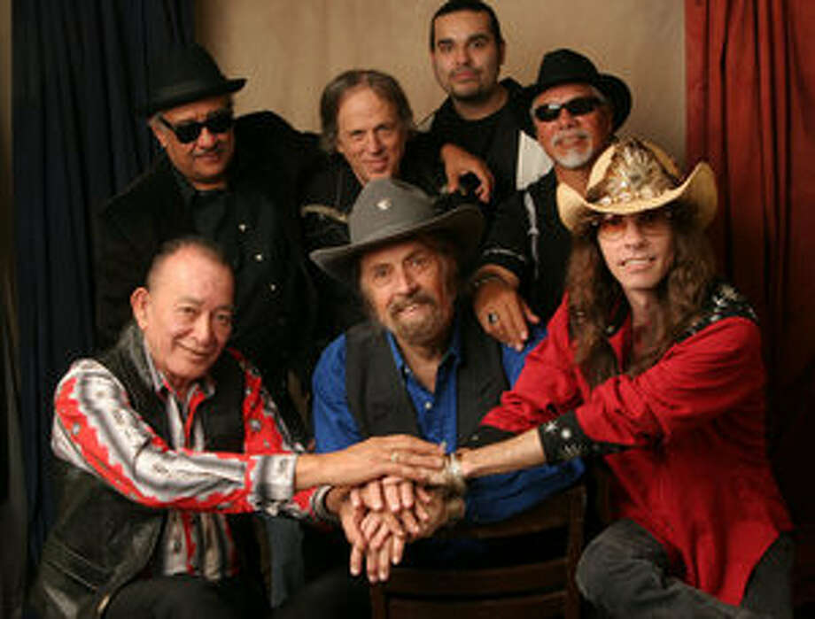 The new edition of the Texas Tornados ? featuring (front, from left) Flaco Jimenez, Augie Meyers and Shawn Sahm ? has a new CD, ??Esta Bueno!,? and a South by Southwest showcase Friday night in Austin.