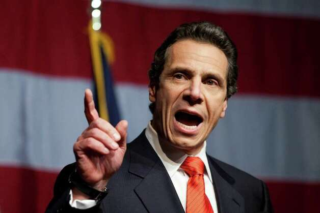 New York Governor-elect Andrew Cuomo faces a huge budget deficit, expiring state worker contracts and other problems when he takes office in January. Photo: Michael Nagle / 2010 Getty Images