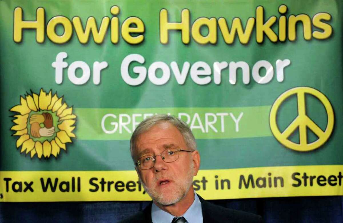 Howie Hawkins garnered enough votes on the Green Party line to keep the party on the ballot.