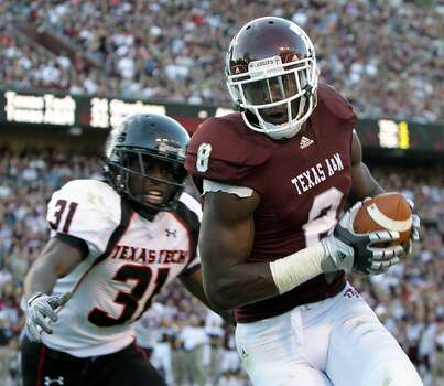 A&M wide receiver Jeff Fuller holds the school record for touchdown receptions. The Dallas-area native originally committed to Oklahoma.
