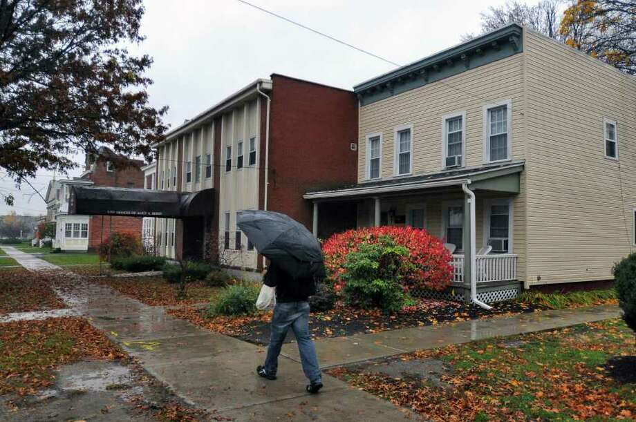 View of buildings on Madison Avenue  in Albany, NY on Thursday November 4, 2010,near the College of Saint Rose.  ( Philip Kamrass / Times Union ) Photo: Philip Kamrass