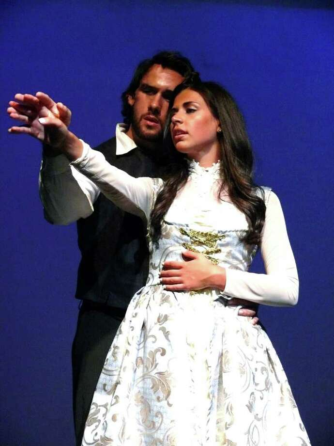 "Mike Longo and Melissa Labbadia, both of New York City, star in Crystal Theatre's ""Hungarian Nights."" Photo: Contributed Photo / Connecticut Post Contributed"