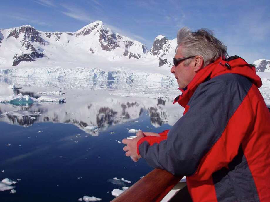 """Expedition leader and photographer Stefan Kindberg will be sharing photographs and experiences in """"From Antarctica to the High Arctic by Sea,"""" an Appalachian Mountain Club presentation, beginning at 6:15 p.m. on Wednesday Nov. 10, 2010 at Saugatuck Congregational Church, 245 Post Road East, Westport. Photo: Contributed Photo / Westport News"""