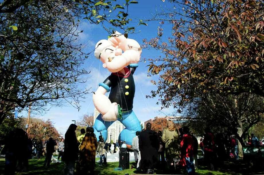 Popeye. Photo: Kathleen O'Rourke / Stamford Advocate