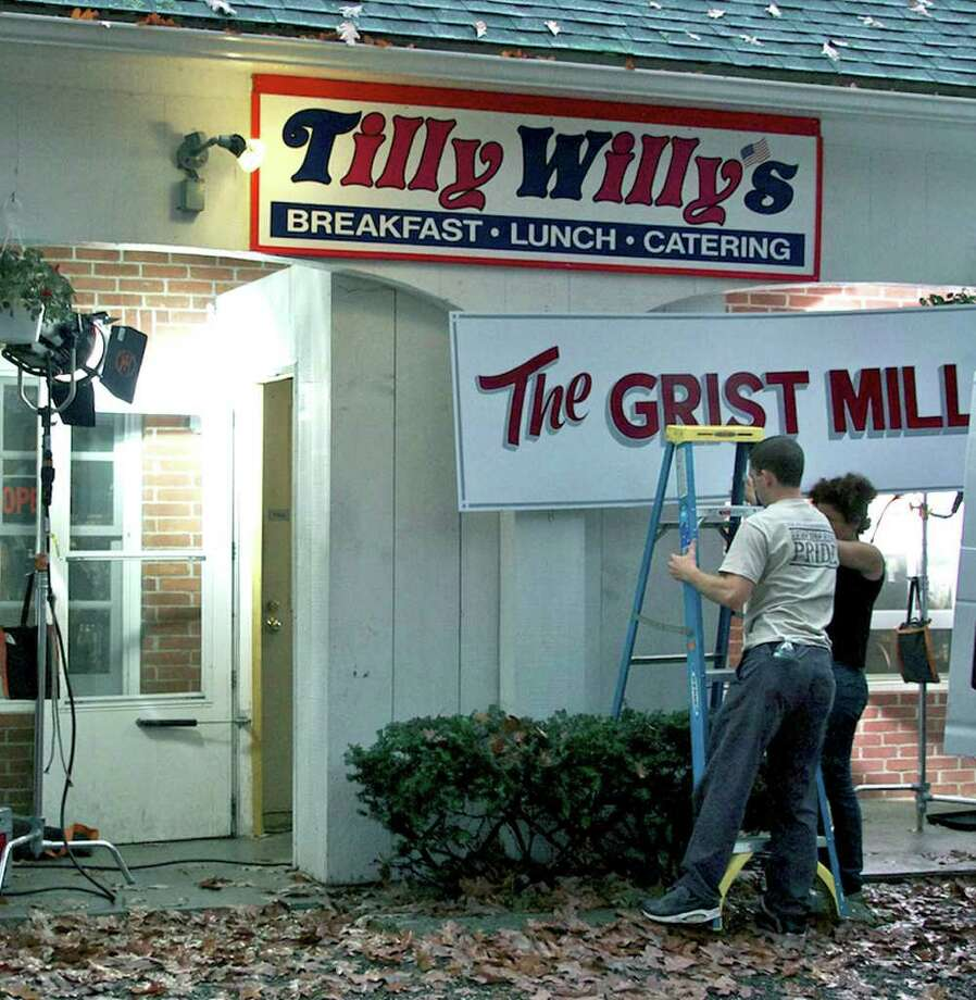 SPECTRUM/Scenes from an independent film are filmed at Tilly Willy's a Bee Brook Road restaurant in Washington owned by Ty Williams, Oct. 27, 2010 Photo: Trish Haldin / The News-Times Freelance