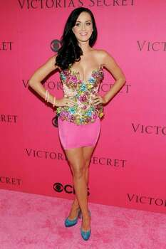 NEW YORK - NOVEMBER 10:  Singer Katy Perry arrives for the 2010 Victoria's Secret Fashion Show at the Lexington Avenue Armory on November 10, 2010 in New York City.  (Photo by Stephen Lovekin/Getty Images) *** Local Caption *** Katy Perry Photo: Stephen Lovekin, Getty Images / 2010 Getty Images